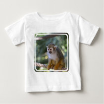 Amazing Squirrel Monkey Baby T-Shirt