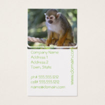Amazing Squirrel Monkey Business Card