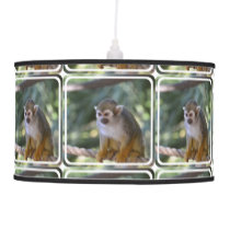 Amazing Squirrel Monkey Hanging Lamp