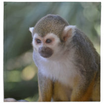 Amazing Squirrel Monkey Napkin