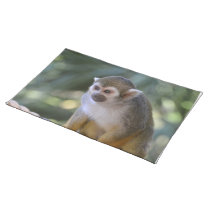 Amazing Squirrel Monkey Placemat