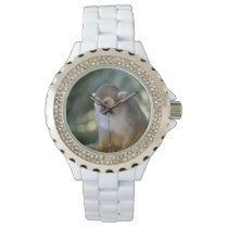 Amazing Squirrel Monkey Wrist Watch
