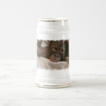 Baby Chimp Beer Stein