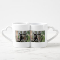 Capuchin Monkey Coffee Mug Set