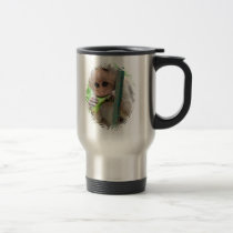 Funny Monkey Picture Travel Mug