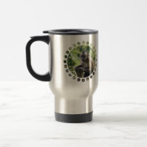 Playful Monkey Travel Mug