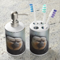 Saki Monkey Bath Set