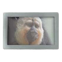 Saki Monkey Rectangular Belt Buckle